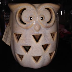 2 Owl new pottery lanterns
